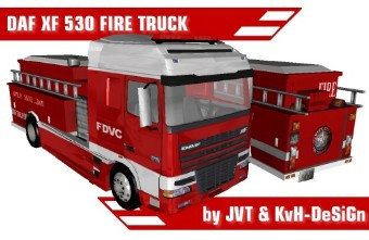 DAF XF 530 FIRE TRUCK post thumbnail image